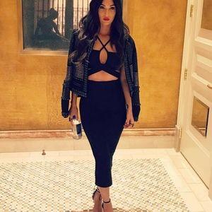 House of CB Ariyah Dress Bandage XS Megan Fox